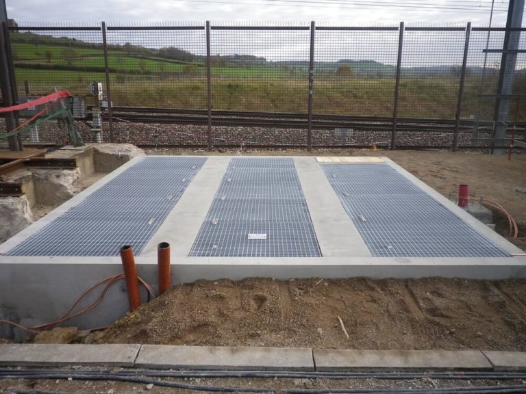 MX - Fire extinguishing system for concrete pits